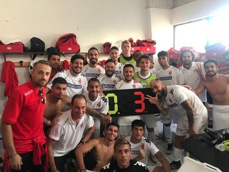 Bari supera l'Igea-Virtus per 0-3