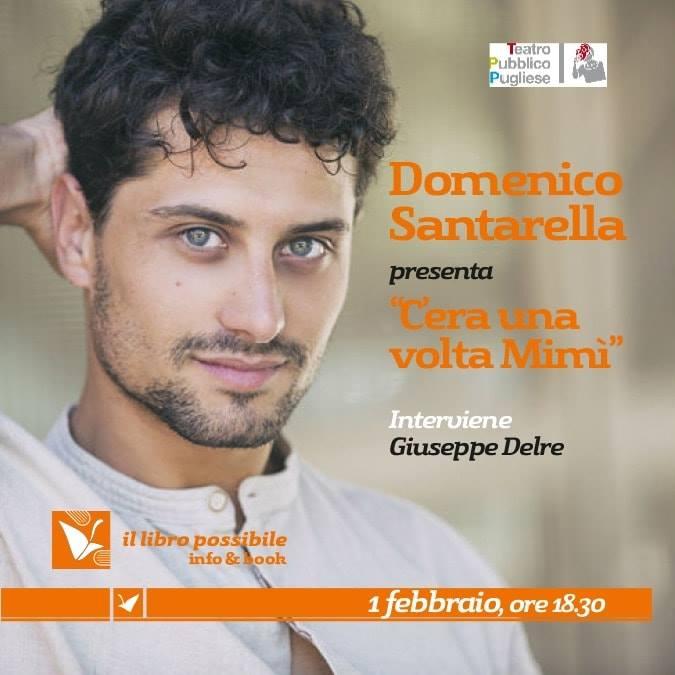 Domenico Santarella al Libro Possibile Caffè