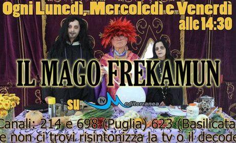 """Su Mediterranea TV arriva """"IL MAGO FREKAMUN"""", con Giuseppe Gialluisi, regia di Dany D'Attoma."""