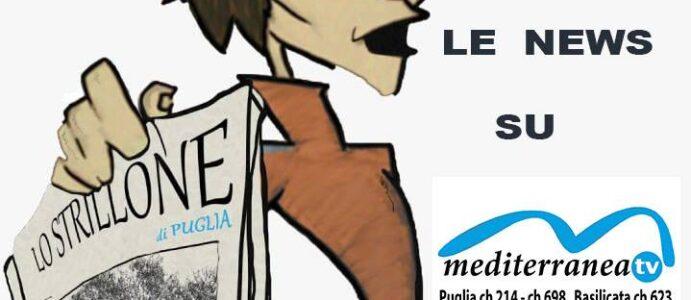"""Le news dello """"STRILLONE"""" sulla piattaforma di Mediterranea tv"""