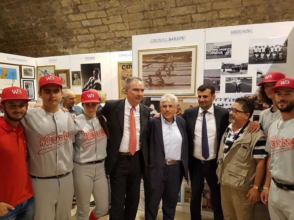 """""""Mostra/Museo dello Sport barese e pugliese"""": dal 7 al 22 aprile 2019 al Fortino Sant'Antonio l'esposizione di fotografie, documenti e cimeli"""